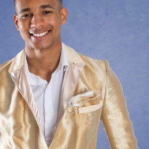 Silk wool mens suit